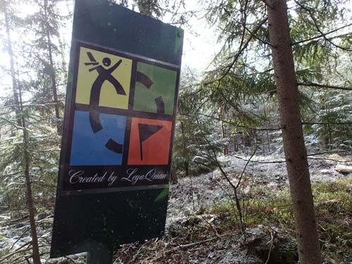 En välkommen syn i skogen!