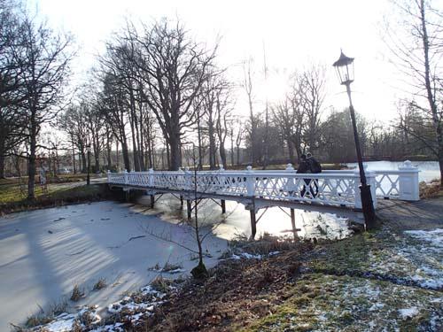 Bro i Nolhaga parken