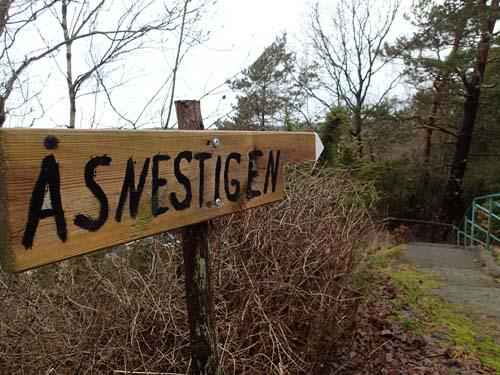 Hallén valde Åsnestigen - don efter person....