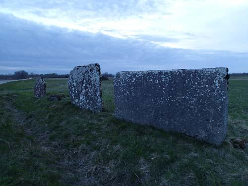 Tre stenar