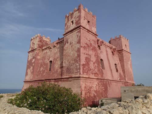 Detta röda fort uppfördes 1649