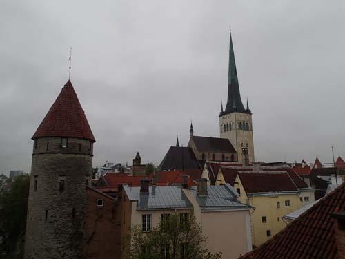 Tallinns sky-line är vacker!