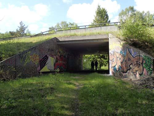 Ser du de två mystiska figurerna i tunneln - det är Ingabo och TMR68....