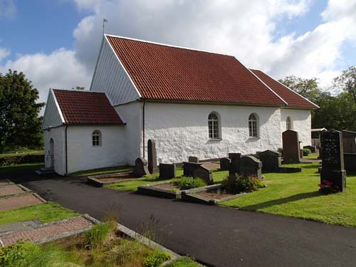 Bergums kyrka - kyrkan