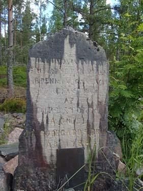Vägen var anlagd 1788 - inte undra på att det var många hål i den...