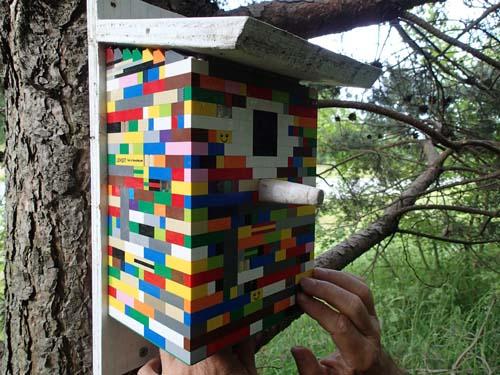 En cache av lego - det var något nytt, svår att hitta lösningen till, men intressant och kul!