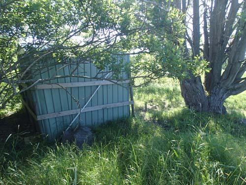 Ut i vår hage där finnas en cache....