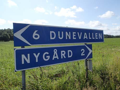 Dunevallen
