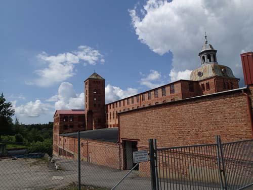 Sjuntorps gamla fabriker.