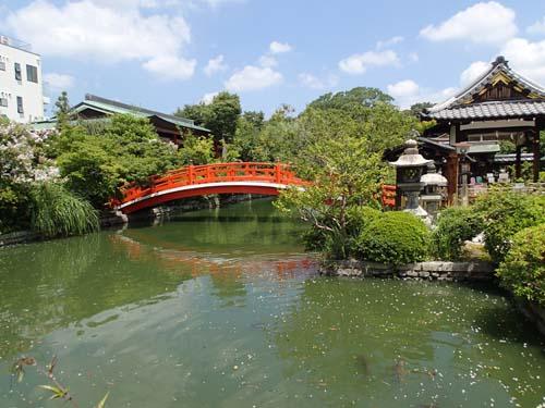 Shinsen-en templet.