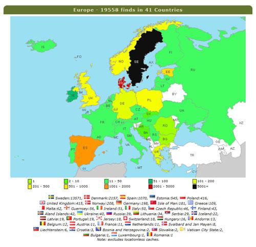 Karta Europa Grekland.Grekland Har Tagit Plats Pa Europakartan Hallens Geocachingaventyr