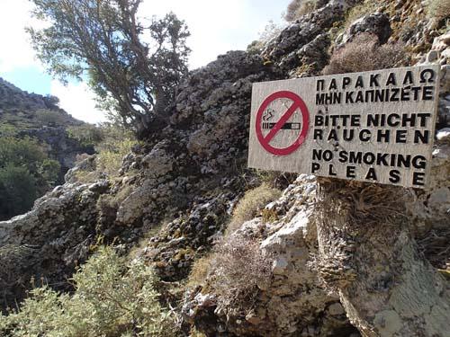 Rökning förbjuden!