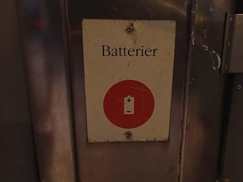 Mina batterier behöll jag själv, men loggen signerades givetvis....