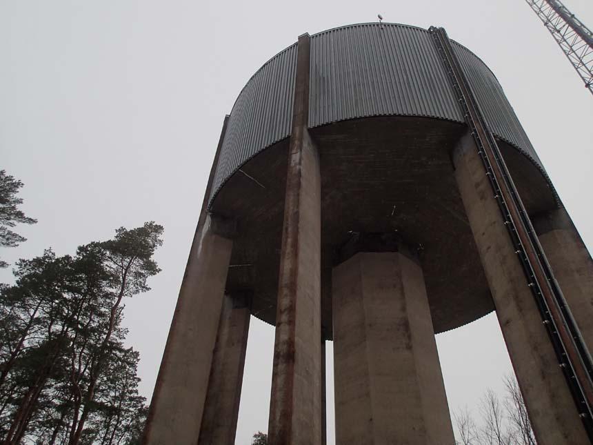Vattentorn i Herrljunga