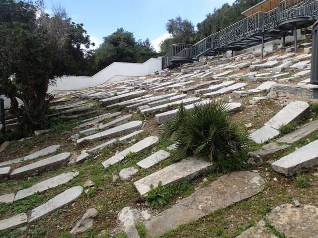 Den stora judiska begravningsplatsen på Gibraltar