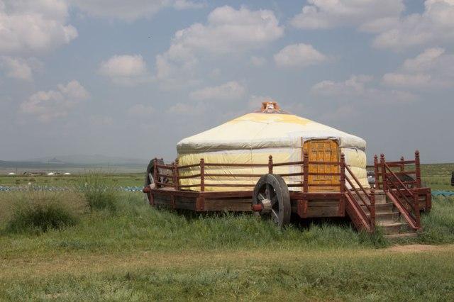 Mongolisk husvagn.