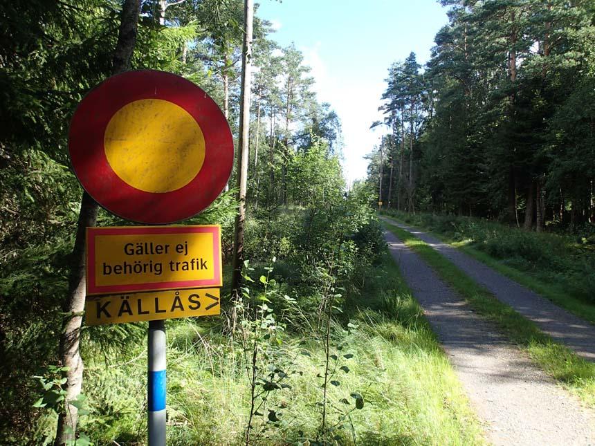 Vägen borde benämnas Halléns väg!