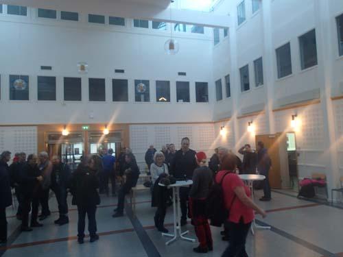 Även i år skall vi vara i den stora ljushallen på Viktoriagatan 13, men i år finns det fler möbler!