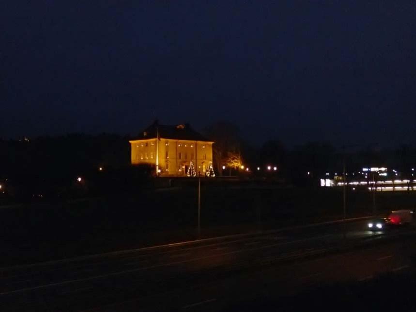 Byggt under 1770-talet och fortfarande en av de största byggnaderna i Partille.