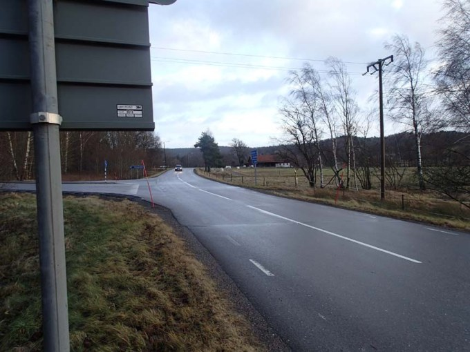 I väntan på skolbussen!